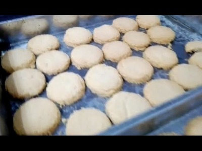 A Tutorial of how to make Coconut biscuits