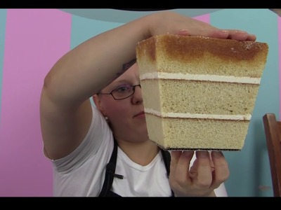 Andrea's SweetCakes Day at the Fair DVD Chapter 6 *HOW TO MAKE A POPCORN BUCKET CAKE*