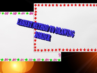 Borders for project || How to decorate borders || Part - 3 ||
