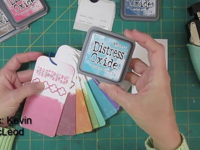 Distress Oxide Ink Color Deck How To