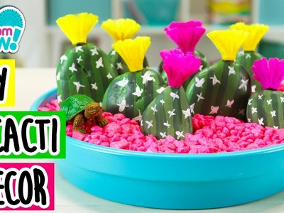 DIY Cactus Garden ! | How To Wow Show | PomPomWow! Official