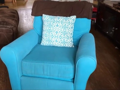 DIY: How to Paint Upholstery A Rocking Chair for Beginners