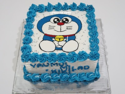 DORAEMON CAKE ! HOW TO MAKE BIRTHDAY CAKE FOR KIDS