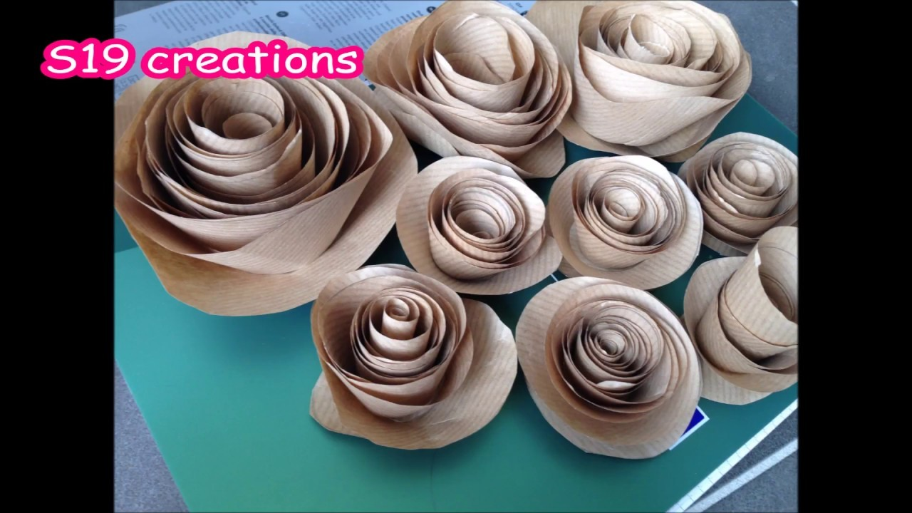 Easy Wall decor with paper roses budget decor| diy | how to make wall decor with flowers