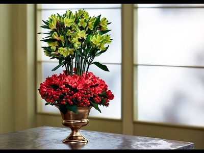 How to Arrange Flowers: Alstroemeria Event Centerpiece