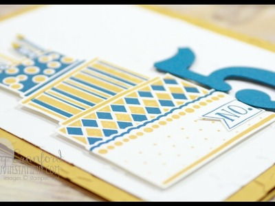 How To Bake A Cake On Paper feat. Stampin' UP!'s Crazy Cake
