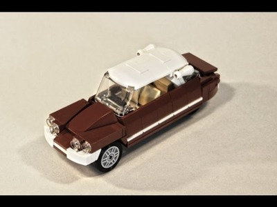How To Build A Citroen DS With Lego - Tutorial. Instruction With Partlist