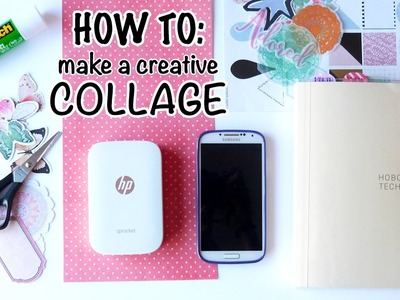 How to: Collage your own planner cover