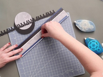 How To Create a Party Hats Border by Creative Memories