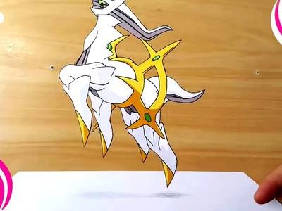 How to Draw Arceus | Pokemon