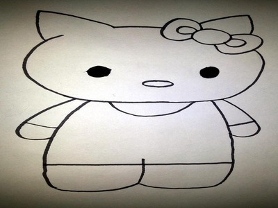 How to Draw Hello Kitty   Easy Drawing Tutorial