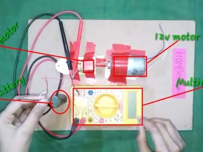 How To Increase Current Dc 3 7v to 10 12v With Motor