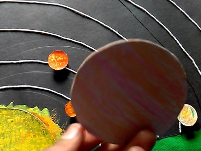 How to make 3D solar system model