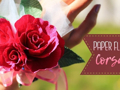 How To Make A Crepe Paper Flower Corsage
