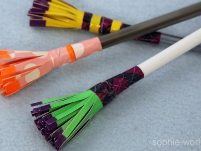 How to Make a Duct Tape Tassel Pen | Sophie's World