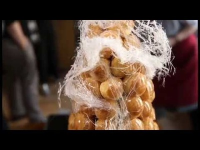 How to Make a Giant Croquembouche
