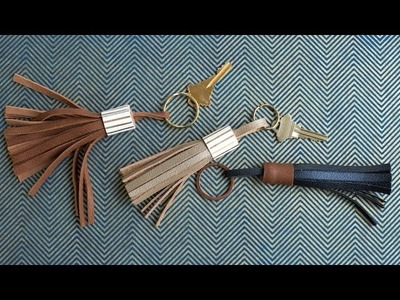 How To Make A Leather Tassel
