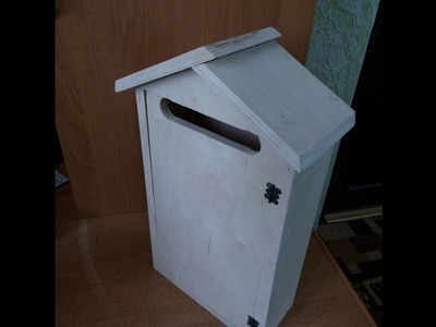 How to make a letter box from plywood