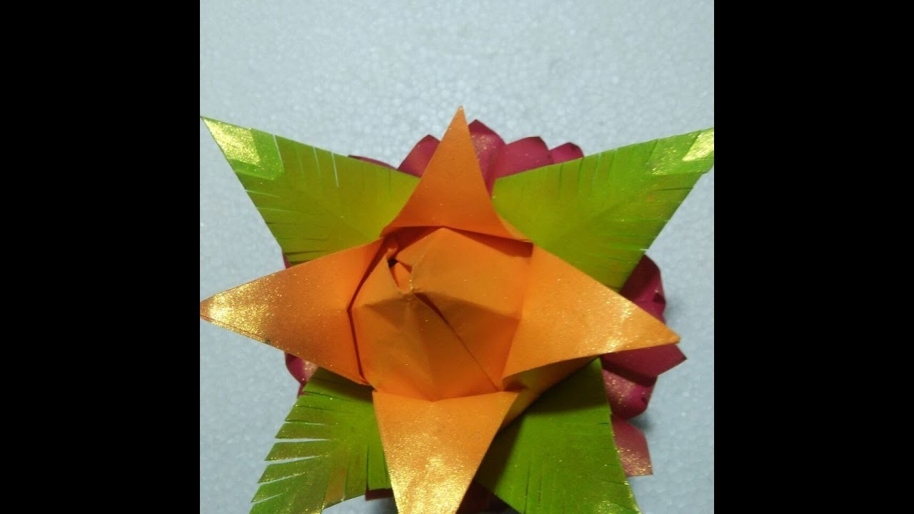 How To Make A Paper Flowers