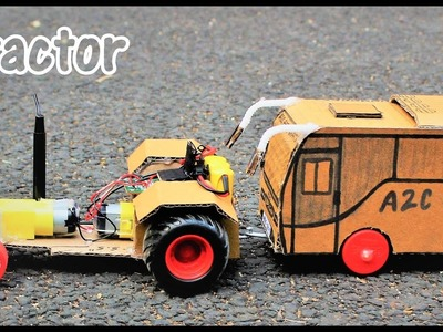 How to make a RC Tractor - Simple