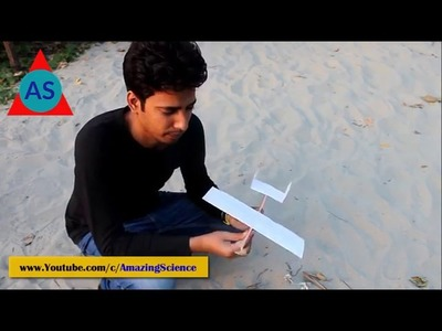 ✔️How to Make a Rubber band plane Out of paper – Very Easy And Effective Airplane