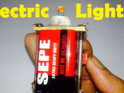 How to make a tiny smart & powerful electric lighter by a damage energy bulb very easy