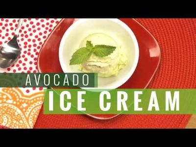 How to Make Avocado Ice Cream