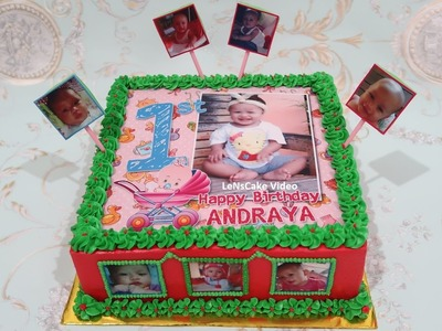 HOW TO MAKE BIRTHDAY CAKE FOR BABY