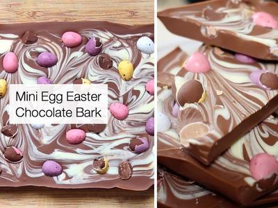 How To Make Chocolate Bark With Mini Eggs (Easter Recipe)