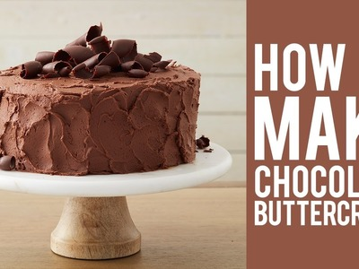 How to Make Chocolate Buttercream Frosting