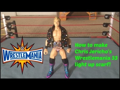 How to make Chris Jericho's Wrestlemania 33 Scarf!