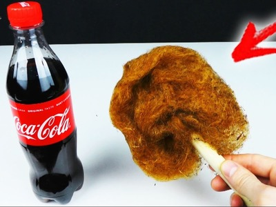 How to Make COTTON CANDY From COCA COLA at HOME. Is it Possible?