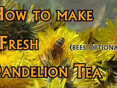 How to: Make Dandelion Tea (Soft Spoken)