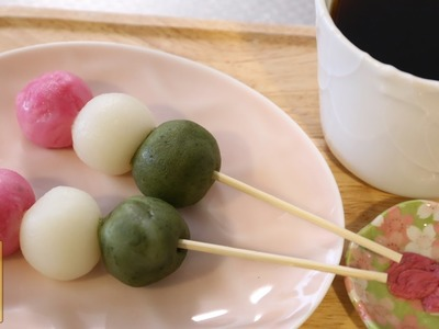 How to make Easy Microwave Hanami Dango【1 Minute Cooking】