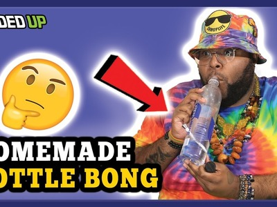 How to make Homemade Water Bottle Bong | Weed Guide