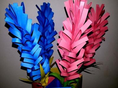 How to make lavender paper flower