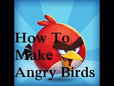 How To Make Paper Angry Bird