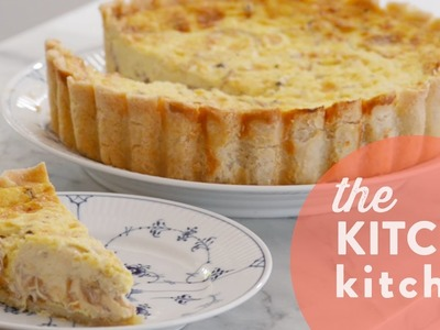 How to Make Quiche Lorraine. Living Deliciously
