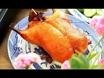 How To Make Roast Peking Duck At Home 如何在家里做北京烤鸭