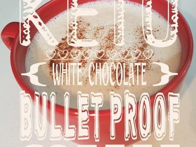 How to make THE BEST Keto White Chocolate Bullet Proof Coffee|  Leanne Vogel - HealthfulPursuit