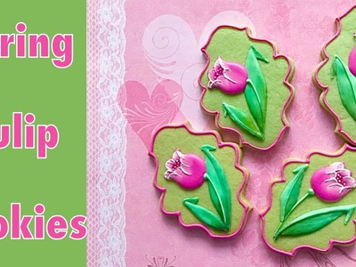 How to make tulip cookies.????????????