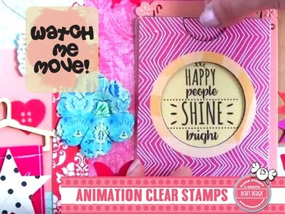 How to make your Animation Envelope using Uchis Design die cuts. DC103