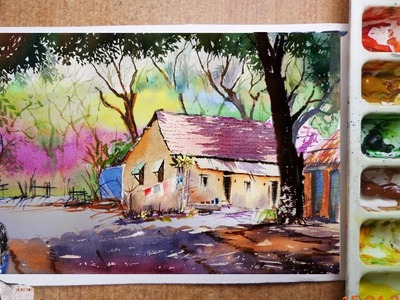 How to Watercolor Painting | Watercolor Painting Ideas
