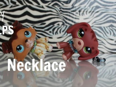 LPS DIY~ How to make Lps Necklace(no wires)