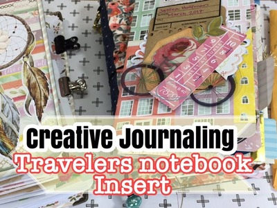 March Creative Travelers Notebook Insert. How I stay organized : Memory Keeping