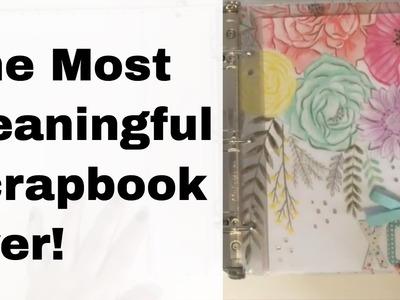 Most Meaningful Scrapbook Ever - xoxo Mini Album Share