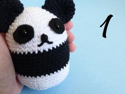 Panda-Ball Amigurumi Crochet - Free Pattern and Video Tutorial Part 1