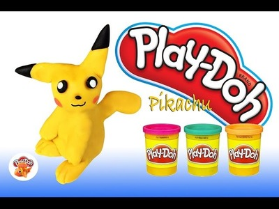 Play Doh Play & Learn How to Make Pikachu Pokemon Go