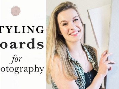 Styling boards for photography: how to make one and how to use one
