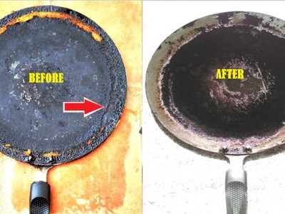 Tip: Cleaning Oil Layer formed Dosa Pan || How to clean dosa Pan.Tawa-How to clean nonstick dosa pan